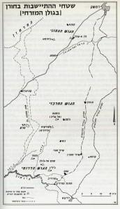 מפת החורן