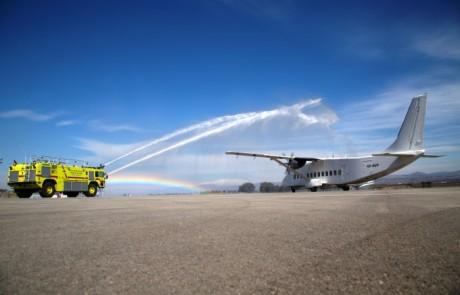 נחנך קו התעופה החדש מראש-פינה לאילת