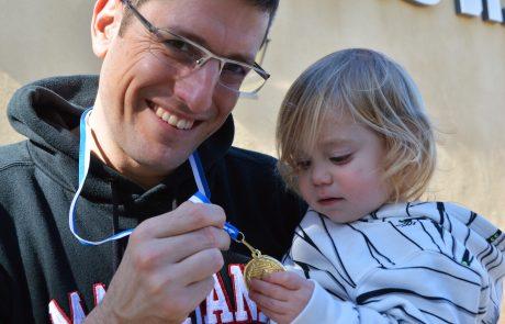 יוסף צמח מבני יהודה  זכה בשתי מדליות זהב באליפות ישראל למאסטרס