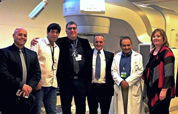 """קולין קנדי, מנכ""""לית 'וריאן מערכות אונקולוגיות' ערכה ביקור מיוחד במרכז הרפואי זיו"""