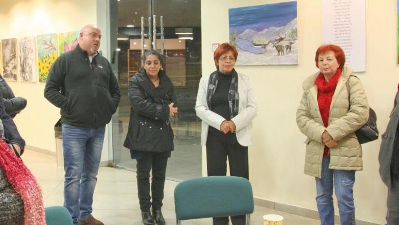 קבוצת היוצרים למען קצרין בתערוכה מסכמת שנת פעילות