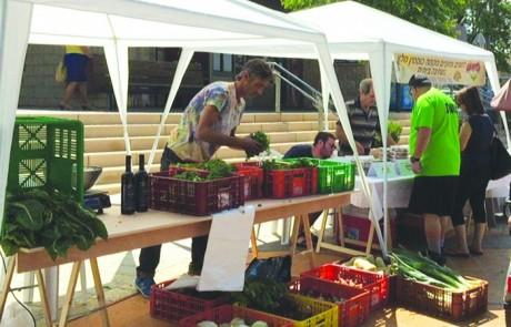 אצא לי השוקה – שוק האיכרים בקצרין