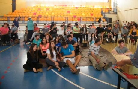 """תלמידי נופי גולן – קפה ומאפה לחברי """"יחד בגליל"""""""