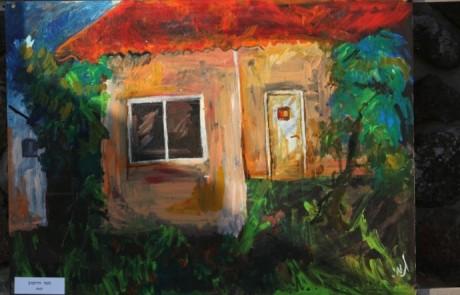 """""""בית"""" – תערוכת רחוב שביעית בקצרין"""