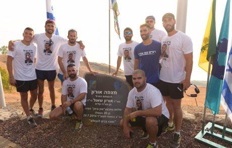 מאות רצים השתתפו במירוץ אורון שאול